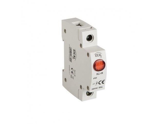 Světelné návěstí kontrolka KLI-R RED, červená