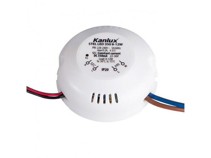 LED trafo proudové 350mA 12W Kanlux STEL LED 8-12W