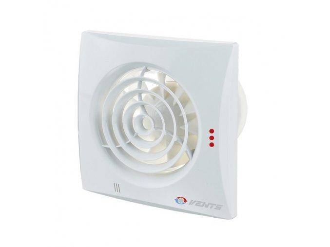 Ventilátor Vents 125 Quiet T se sníženou hlučností a časovačem