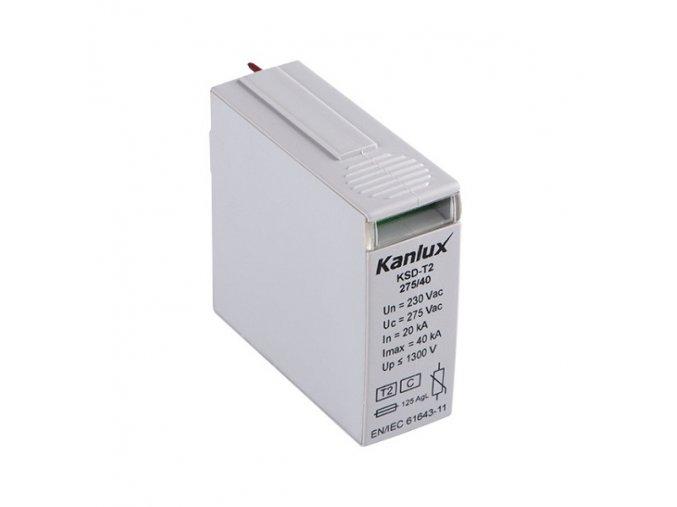 Výměnný modul KSD-T2 275/40 M pro přepěťovou ochranu