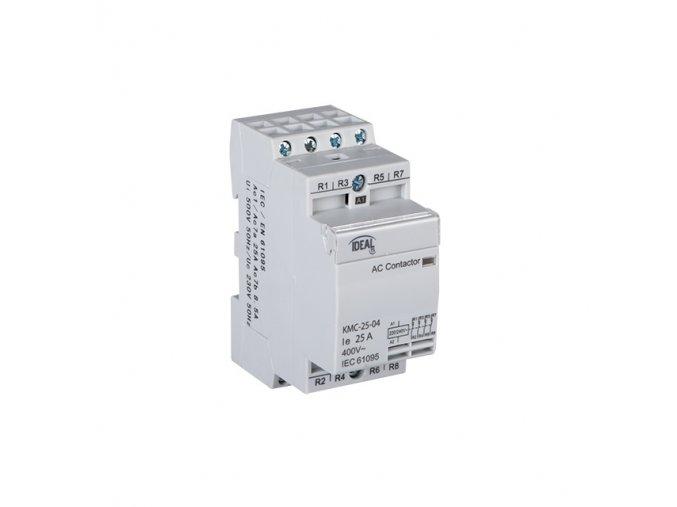 Stykač Kanlux KMC-25-31 4p na DIN lištu 3 fázový