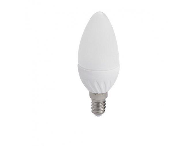 LED žárovka E14 4,5W svíčka DUN T SMD-WW teplá bílá
