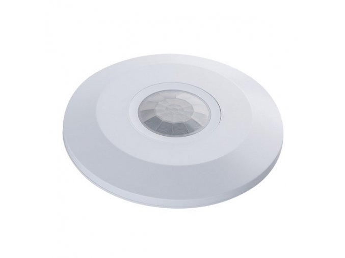Pohybové čidlo stropní bílé ZONA FLAT-W