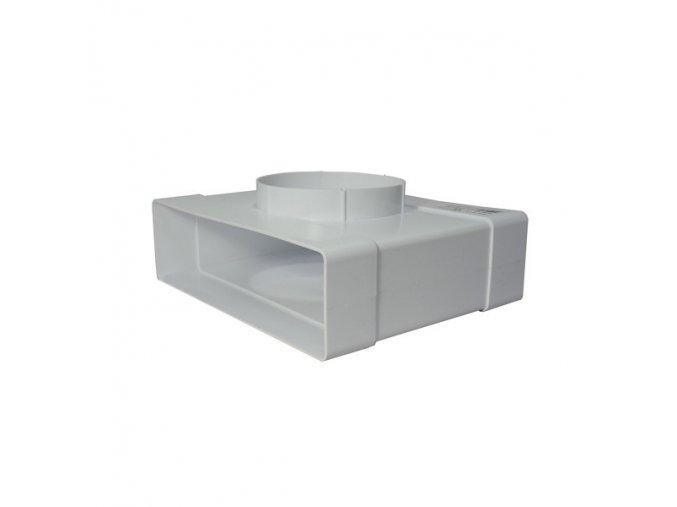 Redukce, odbočka 2x 204x60 /100 mm PVC 631