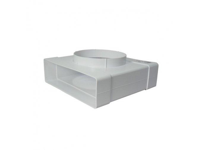 Redukce, odbočka 2x 204x60 /125 mm PVC 632
