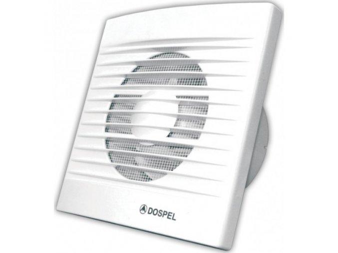 Ventilátor Dospel Styl 100 W/P-P kabel, spínač, vidlice, klapka