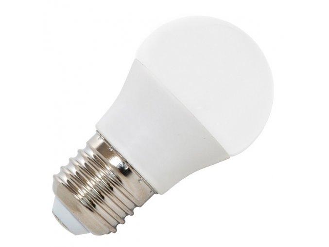 LED žárovka E27  7W LED7W-G45/E27/4100K bílá