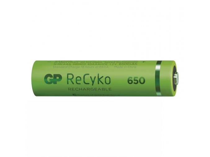 Nabíjecí baterie GP ReCyko+ 650 HR03 (AAA)