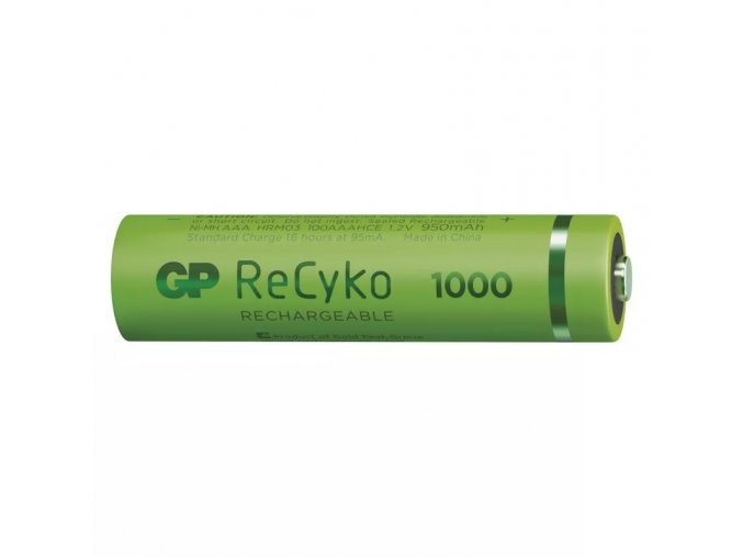 Nabíjecí baterie GP ReCyko+ 1000 HR03 (AAA)