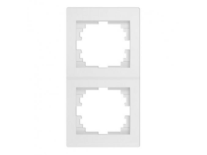 LOGI Dvojnásobný vertikální rámeček - bílá
