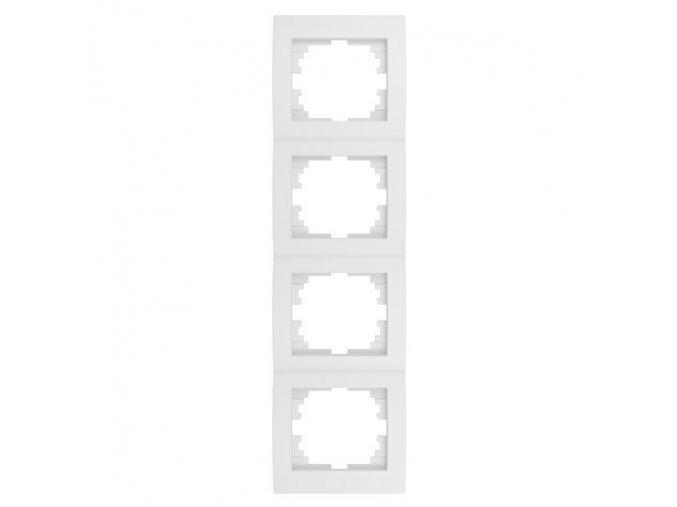 LOGI Čtyřnásobný vertikální rámeček - bílá