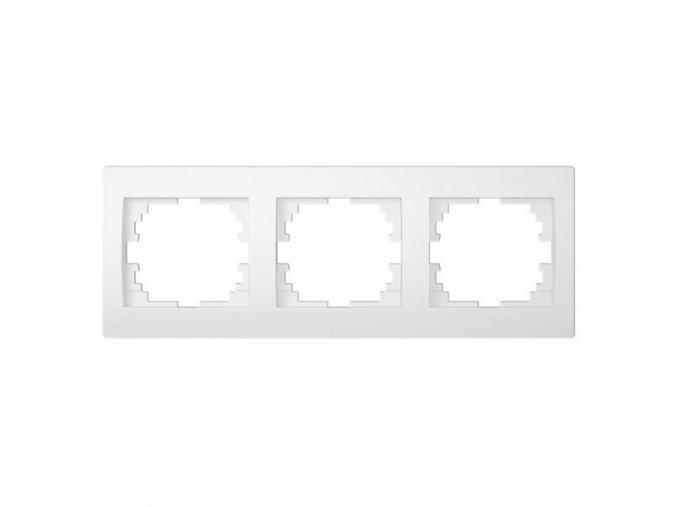 LOGI Trojnásobný horizontální rámeček - bílá
