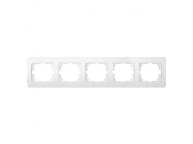 LOGI Pětinásobný horizontální rámeček - bílá