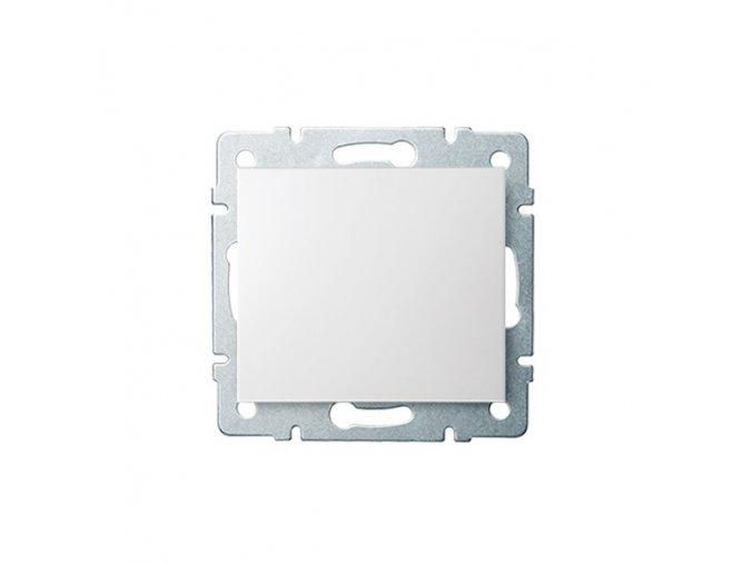 LOGI Jednopólový vypínač - č. 1 - bílá