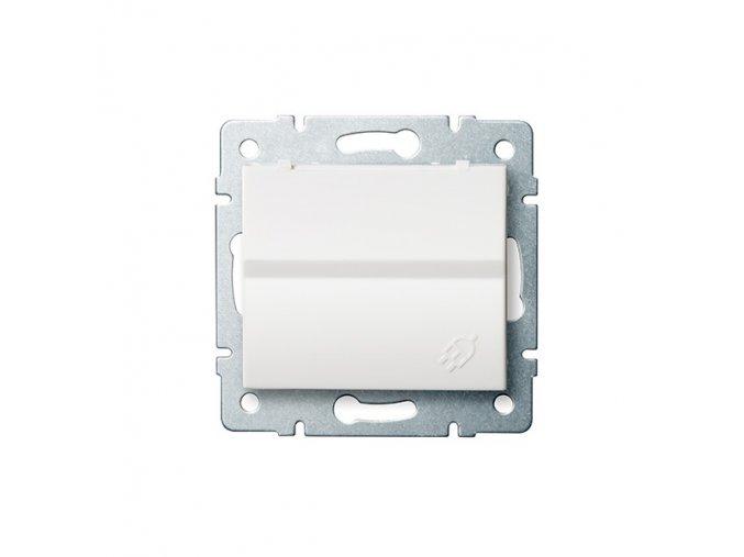 LOGI Zásuvka IP44 - bílá 230V