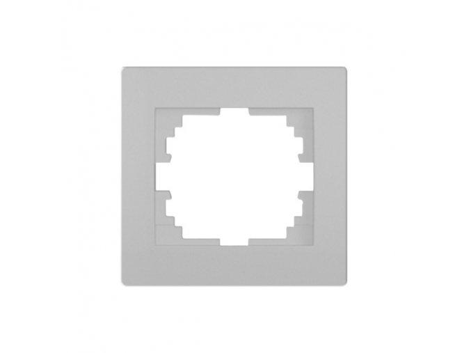 LOGI Jednoduchý horizontální rámeček - stříbrná