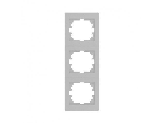 LOGI Trojnásobný vertikální rámeček - stříbrná