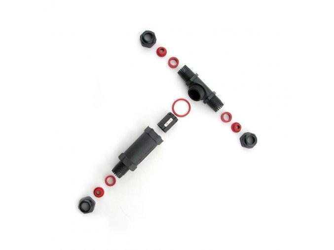 """Kabelová spojka vodotěsná """"T"""" 3x2,5 mm IP68"""