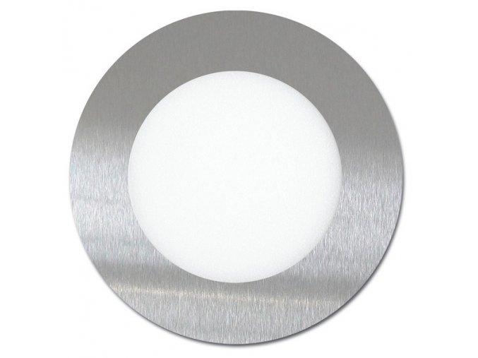 LED svítidlo LED-WSL-6W/2700/CHR Kruh 12cm, 6W, 2700K, LADA