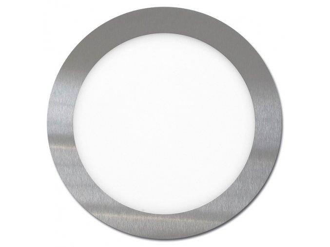 LED svítidlo LED-WSL-12W/2700/CHR Kruh 17,5cm, 12W, 2700K, LADA