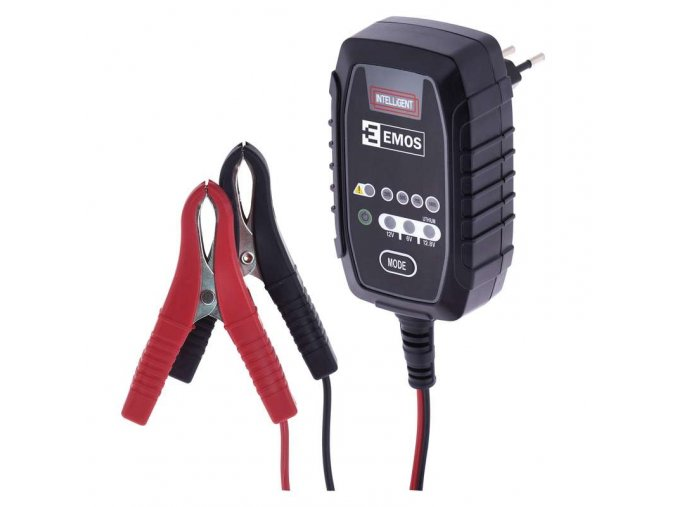EMOS N1015 nabíječka autobaterií 6/12V 0,8A