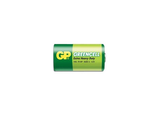 GP baterie R14 /C Greencell malé mono