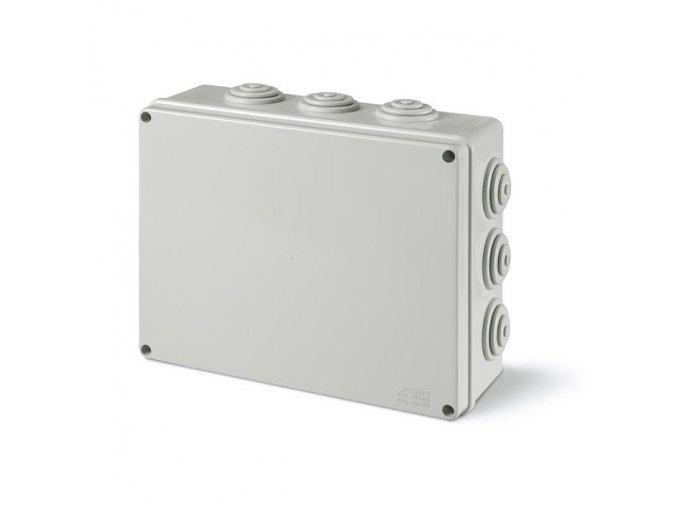 Krabice elektroinstalační 120x80x50 SCABOX 685.005, IP55