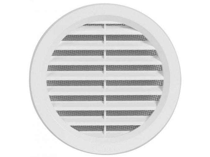Větrací mřížka kruhová VM 110 B bílá 110mm