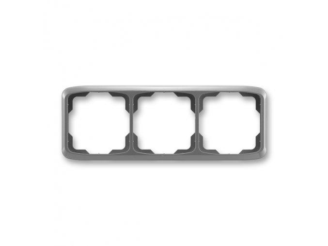 Rámeček TANGO 3901A-B30 S2 trojnásobný vodorovný