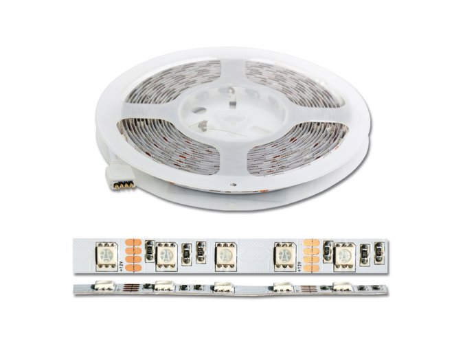 LED páska STRIP SET RGB - DX-SMD5050-RGB/5M s dálkovým ovládáním