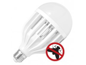 LED žárovka E27/230V JX-BL-10W proti hmyzu UV