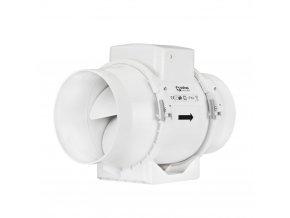 ventilator do potrubi axialni plastovy s casovym spinacem o 100 mm 382 1
