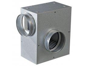 tichy ventilator do potrubi s izolaci hluku radialni o 160 mm 1248 1