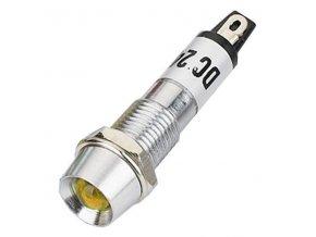 kontrolka 12V LED zluta k460e