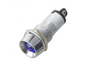 kontrolka 12V LED modra k460j