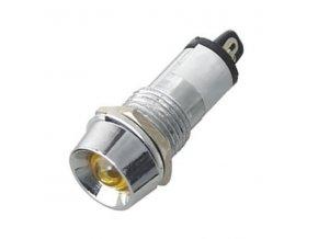 kontrolka 12V LED zluta k460k