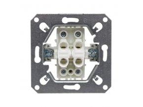 Vypínač RETRO č. 5 sériový, lustrový, černý matný