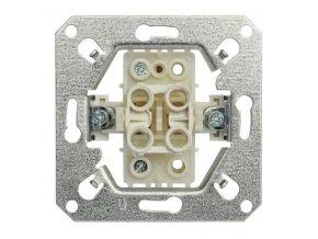 Vypínač RETRO č. 1 jednopólový, černý matný