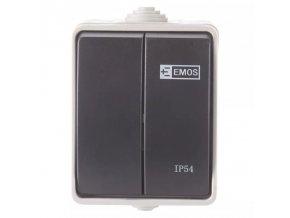 vypinac c 5 na povrch emos ip54
