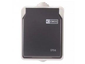 zasuvka na povrch emos ip54