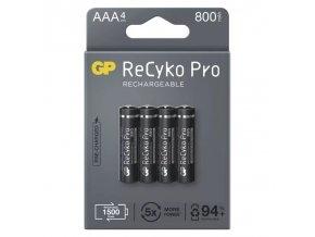 Nabijeci baterie GP ReCyko Pro Professional AAA 800