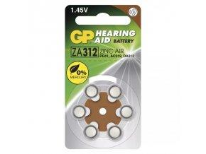 baterie do naslouchadel GP ZA312 PR41