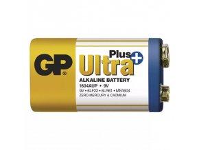 Alkalicka baterie GP Ultra Plus 9V 6LF22