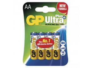 Alkalicka baterie GP Ultra Plus AA LR6