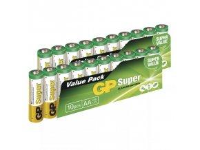Alkalicka baterie GP Super AA LR6 20 kusu