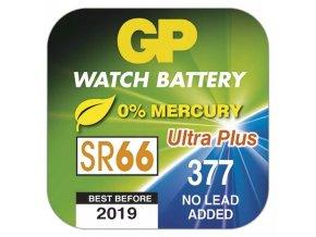 Baterie do hodinek GP 377F (SR66, SR626)