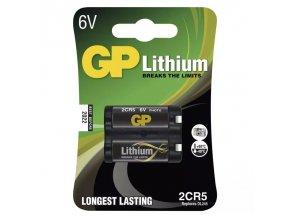 Baterie 2CR5 GP lithiová (foto)