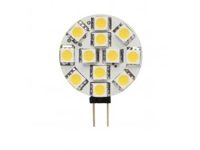 Led žárovka G4 LED12 SMD G4-WW 12V teplá bílá