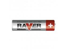 Baterie RAVER FR03 LITHIUM AAA