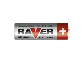 Baterie RAVER FR6 LITHIUM AA